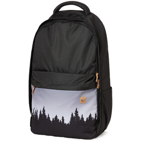 tentree Motion 24L Rugzak, meteorite black juniper